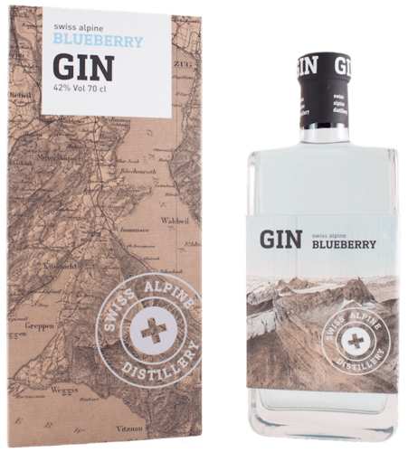 Swiss Alpine Blueberry Gin 70cl